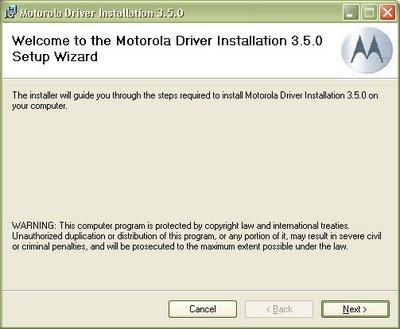 Motorola Razr Drivers