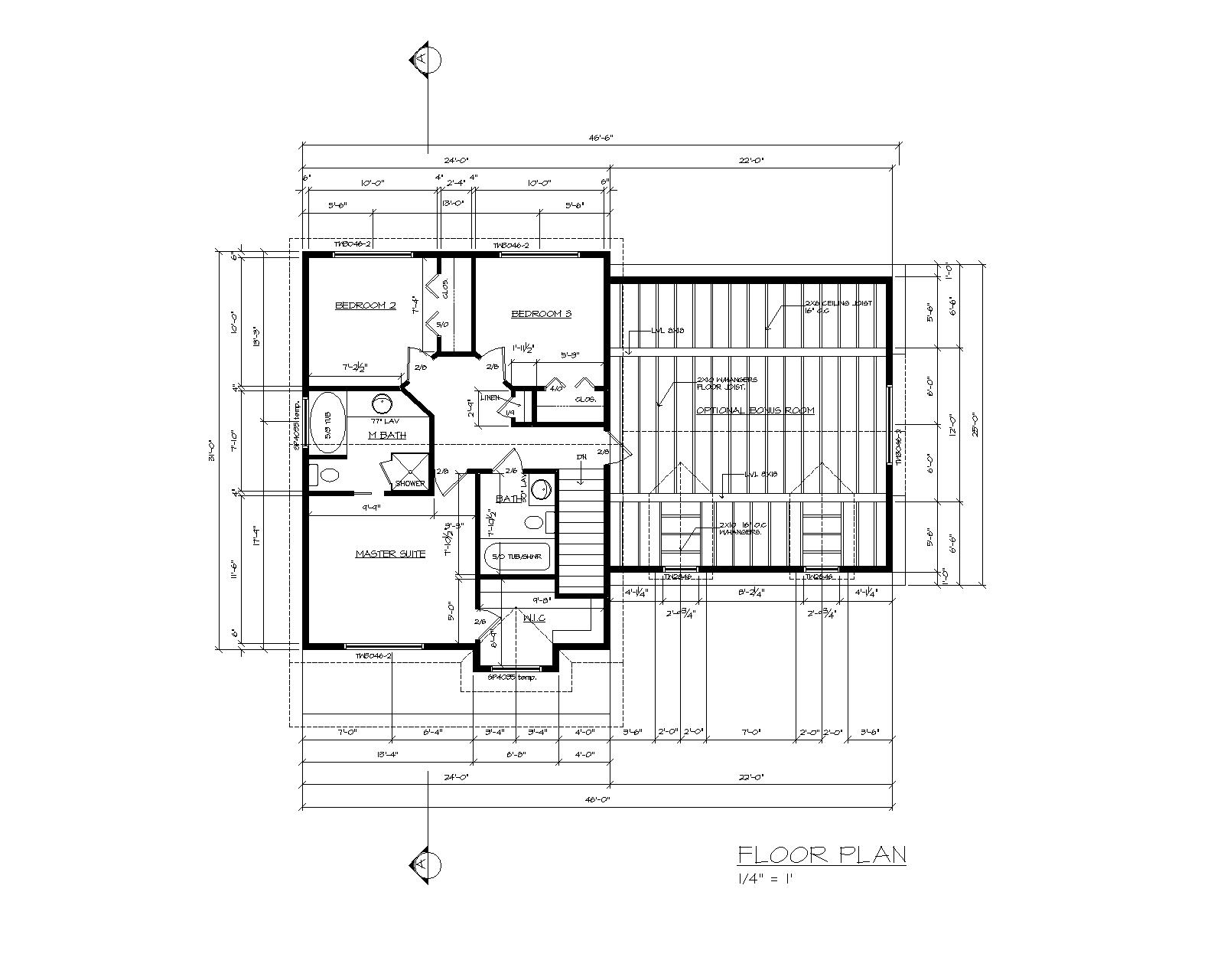 Autocad house drawing 2d joy studio design gallery for Home cad design