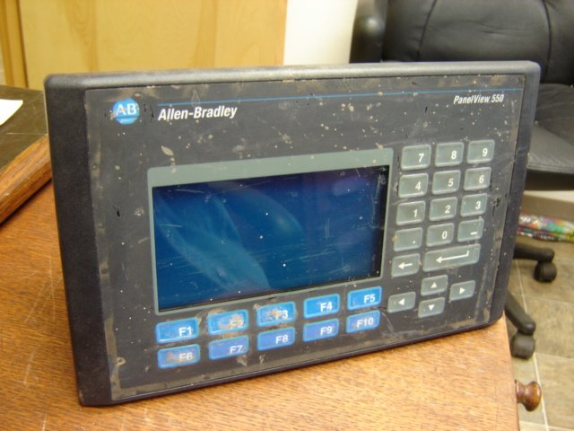 panelview 550 firmware