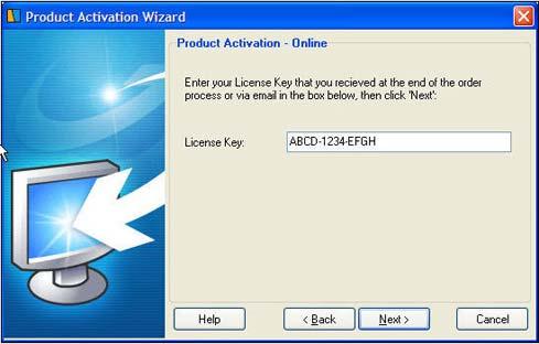 activation keys: