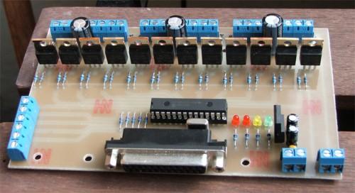 Контроллер станка чпу своими руками