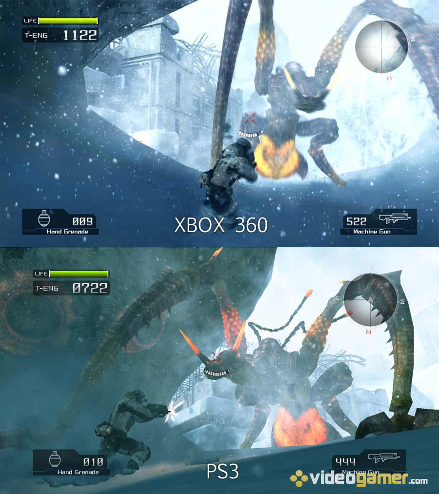 сравнение графики xbox 360 и wii u