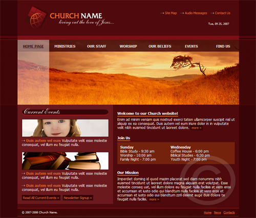 Get FREE website templates at WebsiteTemplates.com. Website Templates ...