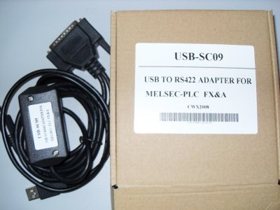 USB-SC09 for FX and A PLC