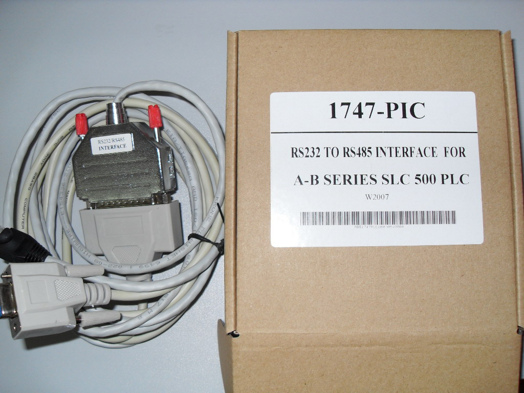 1747-PIC:AB SLC-500 series PLC programming cable_Automation-Drive