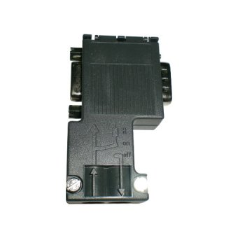 6ES7972-0BB12-0XA0,90 Degree profibus connector with PG port